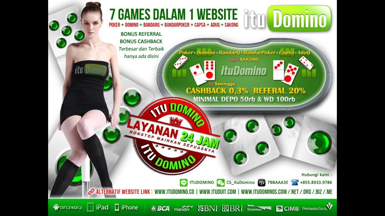 Daftar ItuDomino Login Link Alternatif Itu Domino