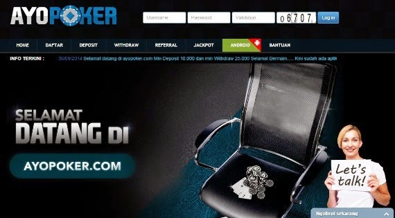 Daftar Ayopoker Login Link ALternatif Ayo Poker Online