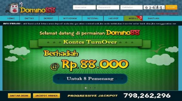 Daftar Domino88 Login Link Alternatif Domino 88 Terbaik
