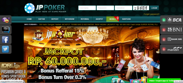 Daftar Jppoker Login Link Alternatif Jp Poker Online