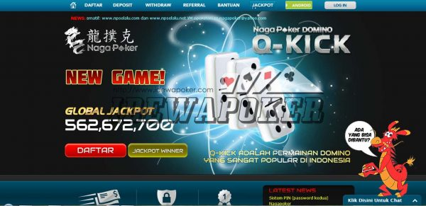 Daftar NagaPoker Login Link Alternatif Naga Poker