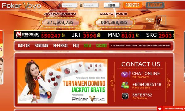 Daftar PokerVovo Login Link Alternatif Poker Vovo