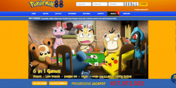 Daftar Pokermon88 Link Alternatif Poker Mon88