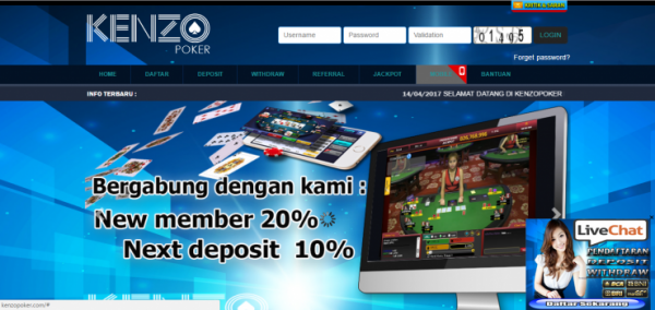 Daftar Kenzopoker Login Link Alternatif Kenzo Poker Mantap